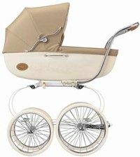 Inglesina Classica Pram with Change Bag & Basket