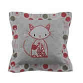 Cloud Cuckoo Designs Cat Decorative Cushion
