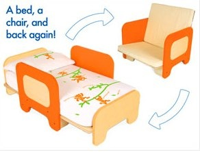 P'kolino Toddler Bed