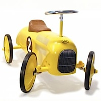 Yellow Metal Car by Vilac
