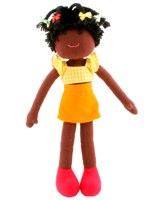 Amanda Rag Doll by Linden French