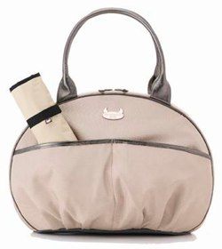 dante beatrix baby pouf changing bag