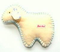 Kathe Kruse Organic Toy Lamb Rattle
