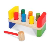 6 peg Hammer Bench by Pintoy