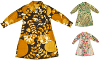 vintage smock coats by christa davis