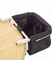 Phil and Teds Me Too Portable Highchair Black