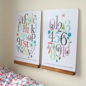 Luxury ISAK ABC u Number Workboards Wall Decorations
