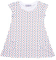 Topshop Mini All Over Spot Dress
