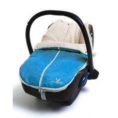 Wallaboo Newborn Footmuff blue