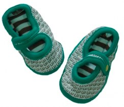 Minymo Dallas Baby Shoes, Green Minymo