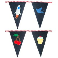 baby's bunting appliqued designs
