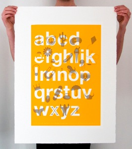 ABC Poster by Bless Design