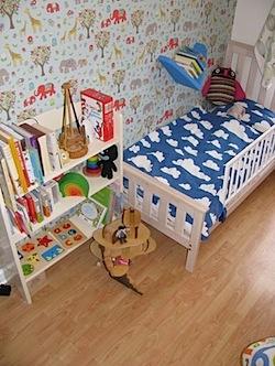 Nursery Tour: Milla's Eclectic Room