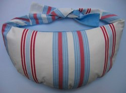 Breastfeeding pillow Ultimate blue stripe