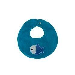 Blue Fish Bib by ej sikke lej