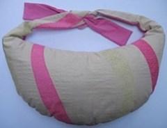 Breastfeeding pillow Ultimate blue stripe Breastfeeding pillow ultimate pink wave