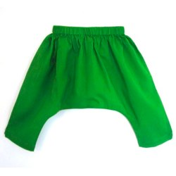 Moss Green Baba Sarouel Pants by RosieGoa