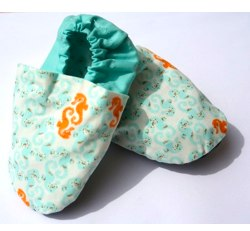 Soft soled baby shoes - Sea-horse