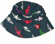 grey winged star star hat by kik kid