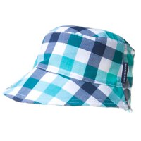 blue check sunhat polarn o pyret