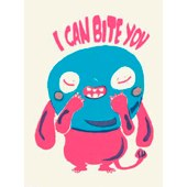 I can bite you card by rachel ortas