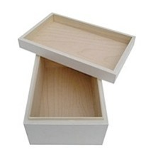 white storage box by freya design