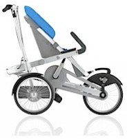 taga bike pram as a pushchair