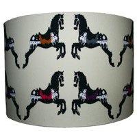 Zedhead Ltd Horse Print Lampshade by Zedhead