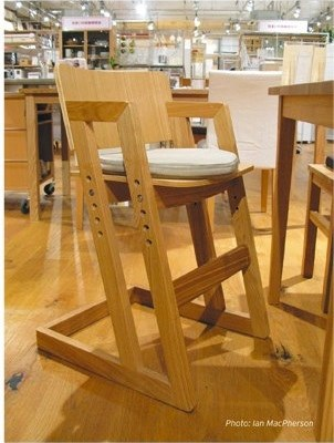 International lustfest: Muji's highchair
