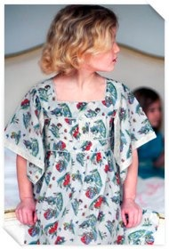 Toadstool Fairy Cotton Voile Dress by Their Nibs TOADSTOOL FAIRY COTTON VOILE DRESS