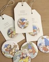 vintage noddy badges and magnets