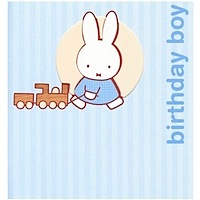 Miffy Birthday Boy Greeting Card