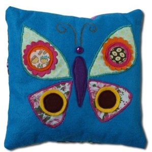 butterfly cushion by chloe owens
