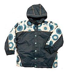 Great Autumn Winter Coat Hunt: Katvig Apple Print Jackets & Snowsuits