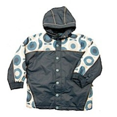 Katvig blue and light blue big apple jacket
