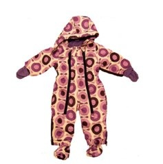 Katvig purple big apple snowsuit
