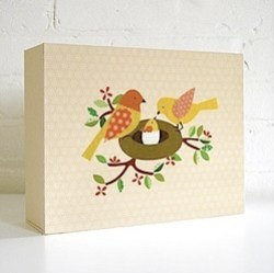 Deluxe Baby Book and Memory Box by Petit Collage