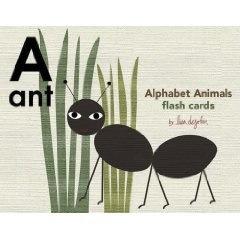 Alphabet Animals Flash Cards by lisa dejohn