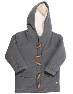Woodland Adventurer Cord Duffle Coat