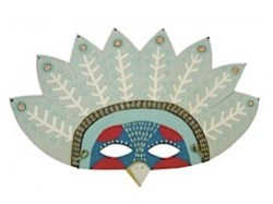 Exotic Bird Mask