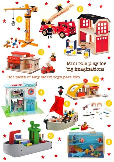 bambino goodies christmas guide to tiny world toys for toddlers featuring plan toys, pintoy, habitat, muji, and le toy van