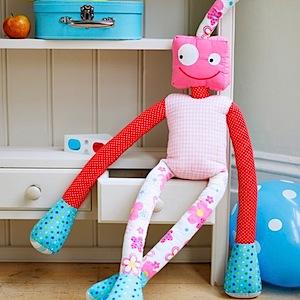 mrs robot rag doll