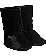 Velvet soft sole booties by Elodie Details