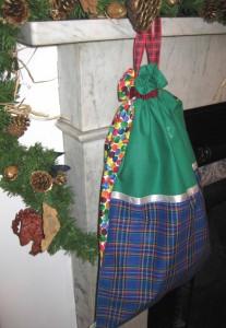 boys santa sack by mini mcghee