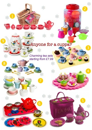 bambino goodies christmas gift guide for tea sets for toddlers including djeco, ikea, oskar and ellen