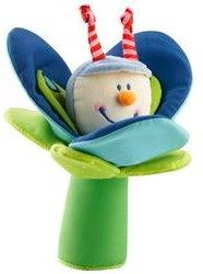 Beetle Anton Clutching Toy by Haba - blue