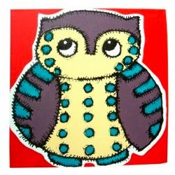 jessica graham owl canvas