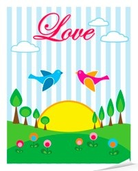 Love Birdie Poster
