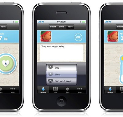 Cool iPhone App: Milk Monitor