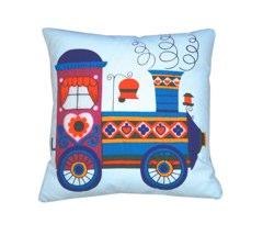 train cushion